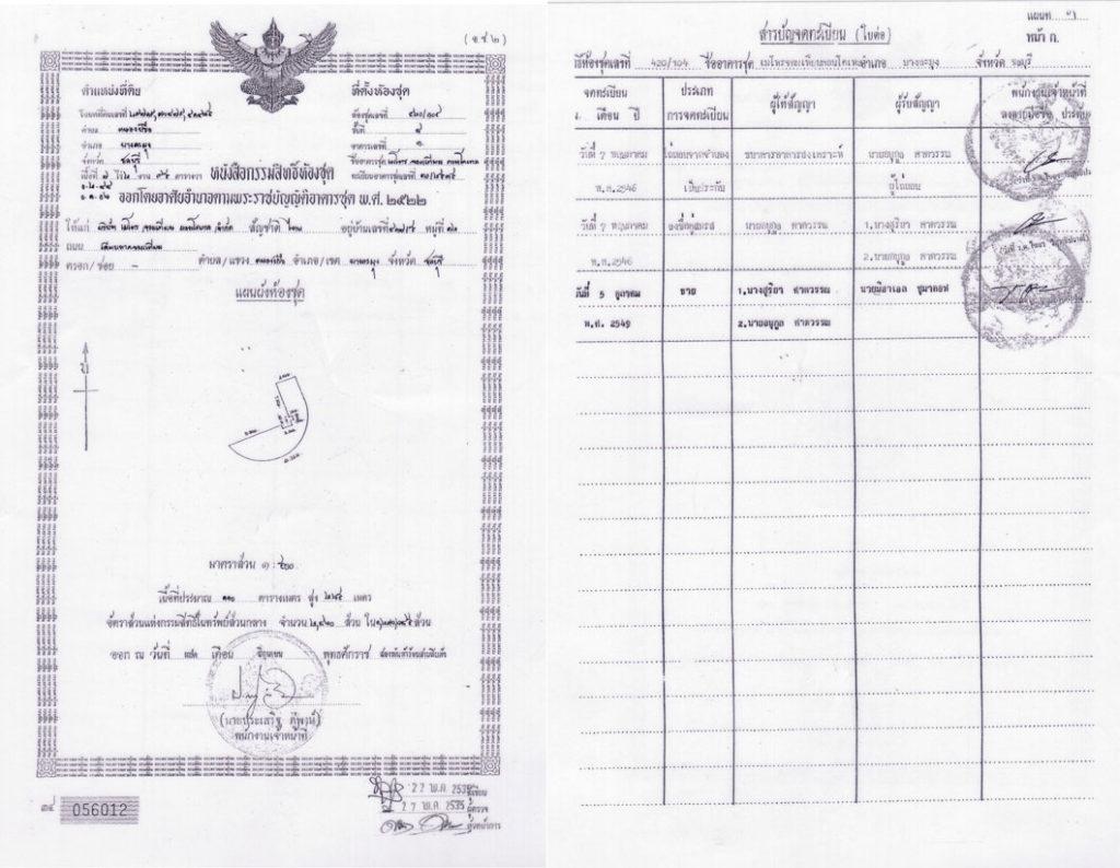 Земельный документ Чанот